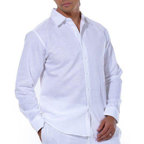 Linen/cotton blend long sleeve shirt in white, small. JMP,http://www.amazon.com/dp/B00DUEB8IQ/ref=cm_sw_r_pi_dp_Szjktb04M94BA7A6. Linen / Cotton blend $45
