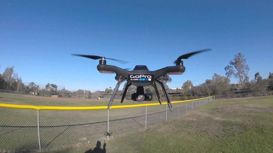 3dr solo test video using my gopro hero4 session