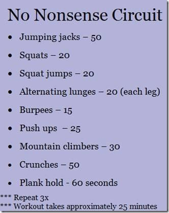 Intensity The Home Workout