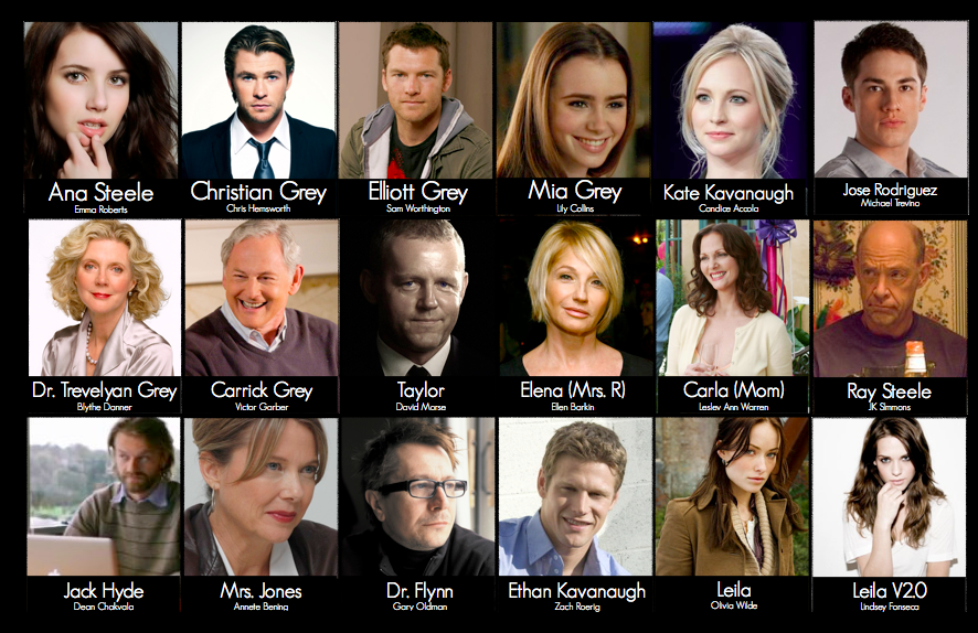 fifty shades cast change