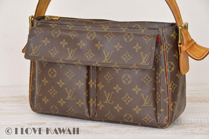 c7e1070c1ecd Louis Vuitton Monogram Viva Cite GM Shoulder Bag M51163