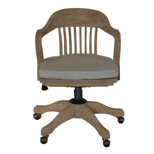 Buy Online The Stylish S Bankers Office Chair Weathered Oak