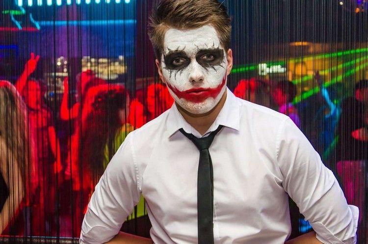 Maquillage Halloween homme en 27 idées originales
