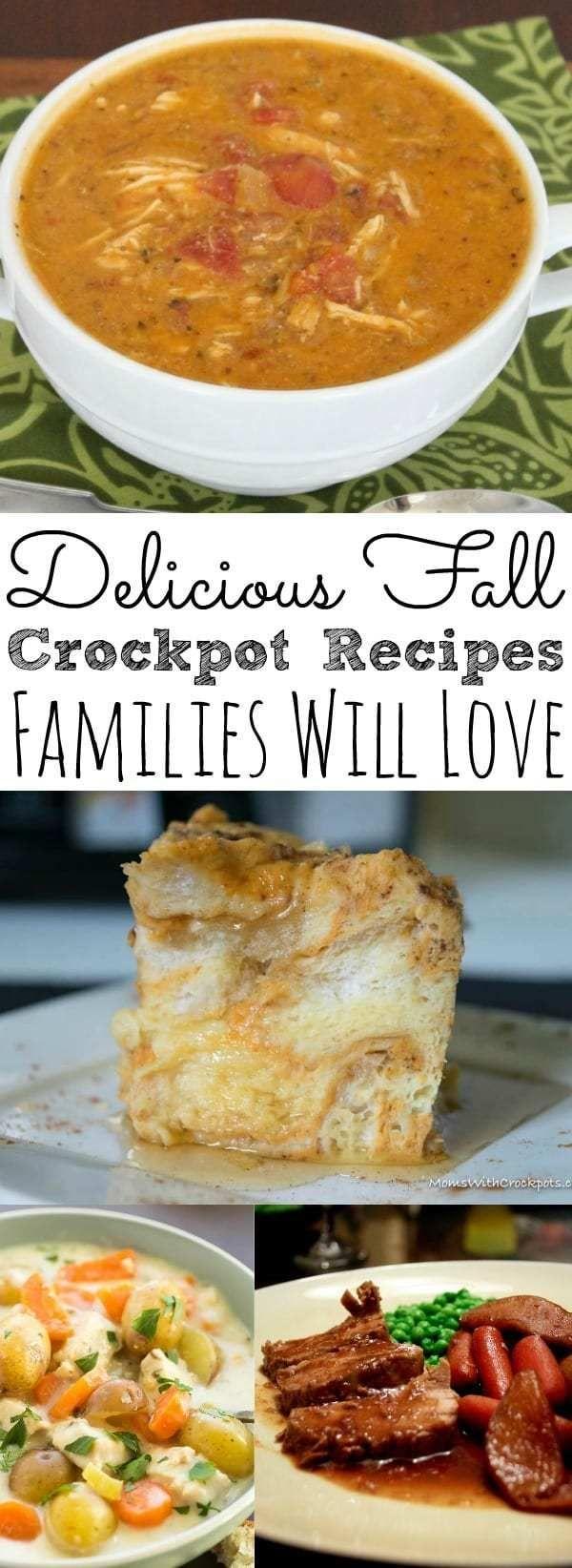 Delicious Fall Crockpot Recipes images