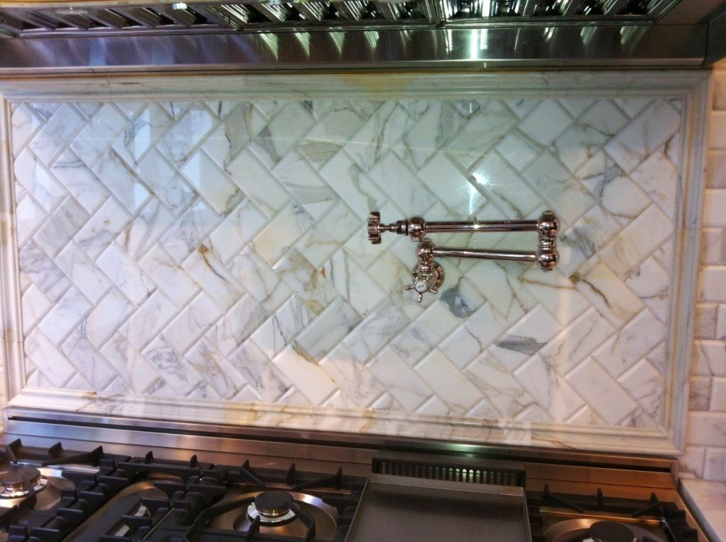 Kitchen Marble Tile Backsplash Ideas 2014 Tile Backsplashes And