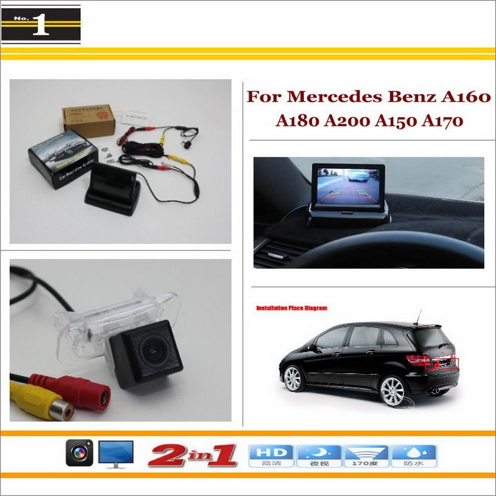 Car Backup Rear Camera 43 Tft Lcd Screen 2 In 1 Rearview Mercedes Benz A160 Wiring Diagram Directly From China Suppliers Parking System For