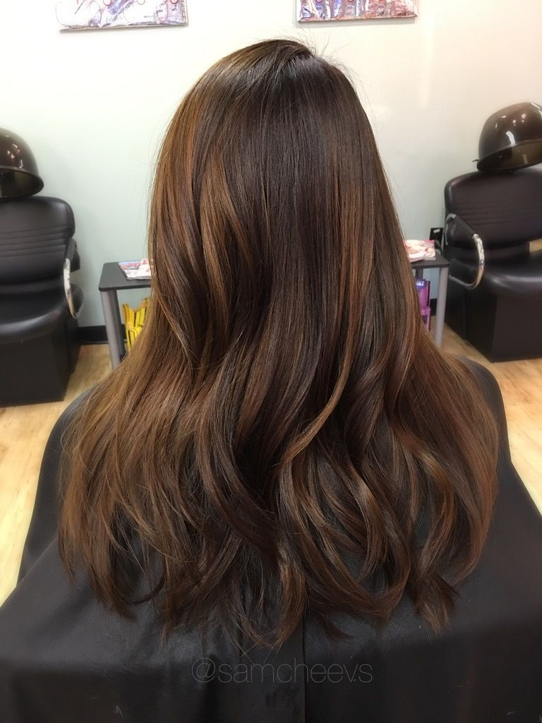 Black Hair Dye Color Correction Caramel Honey Chocolate Brown