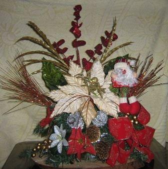 Arreglos navide os navidad pinterest arreglos - Arreglos navidenos para mesa ...
