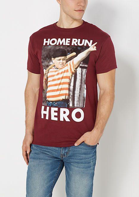 New The Sandlot Movie Mens Home run Hero T-Shirt