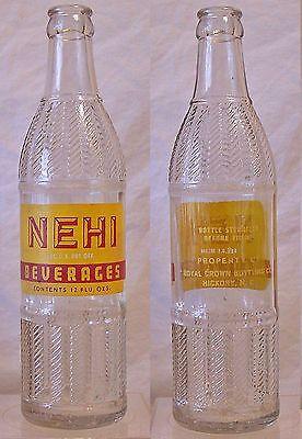 Vintage 1925 Columbus Ga Nehi Soda Bottle | What's it worth