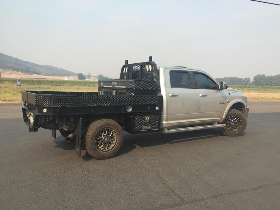 gallery pickup truck aluminum flatbeds highway products inc flatbed. Cars Review. Best American Auto & Cars Review