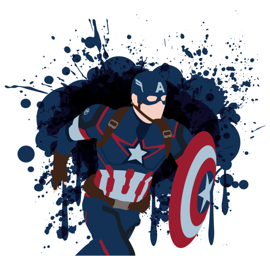 Captain America Vector Art by LankySandwich Vector art