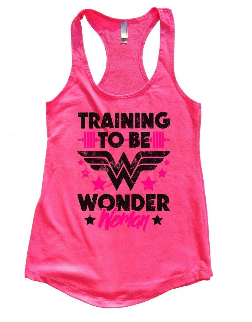 0beaaf0e4d8af2 TRAINING TO BE WONDER Woman Womens Workout Tank Top - FunnyThreadz.com