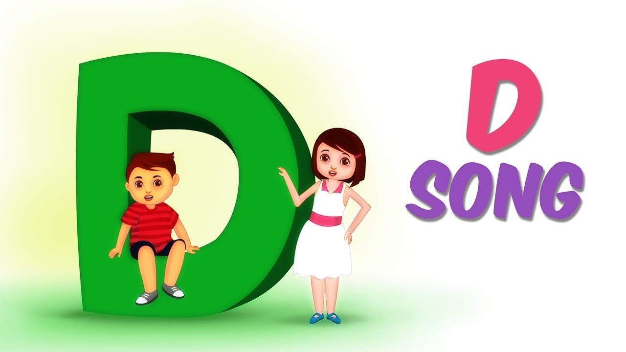 The Letter D Song - Alphabet Songs for kids - Nursery Rhymes by Kids ...
