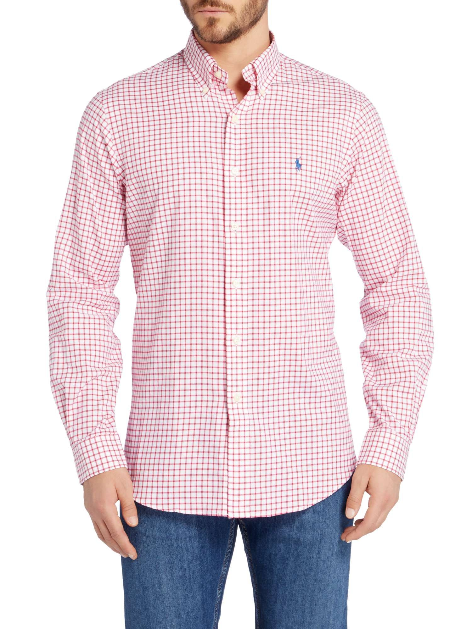 Buy Your Polo Ralph Lauren Long Sleeve Bd Twill Custom Fit Shirt