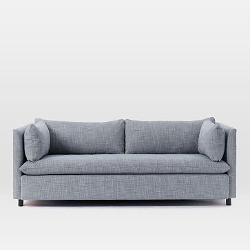 Shelter Sleeper Sofa Pebble Weave Olive