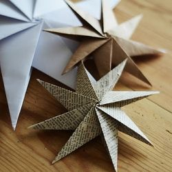 Paper ornament round up with lots of tutorials.