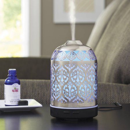 Better homes and gardens essential oil diffuser delicate filigree wellness Better homes and gardens diffuser