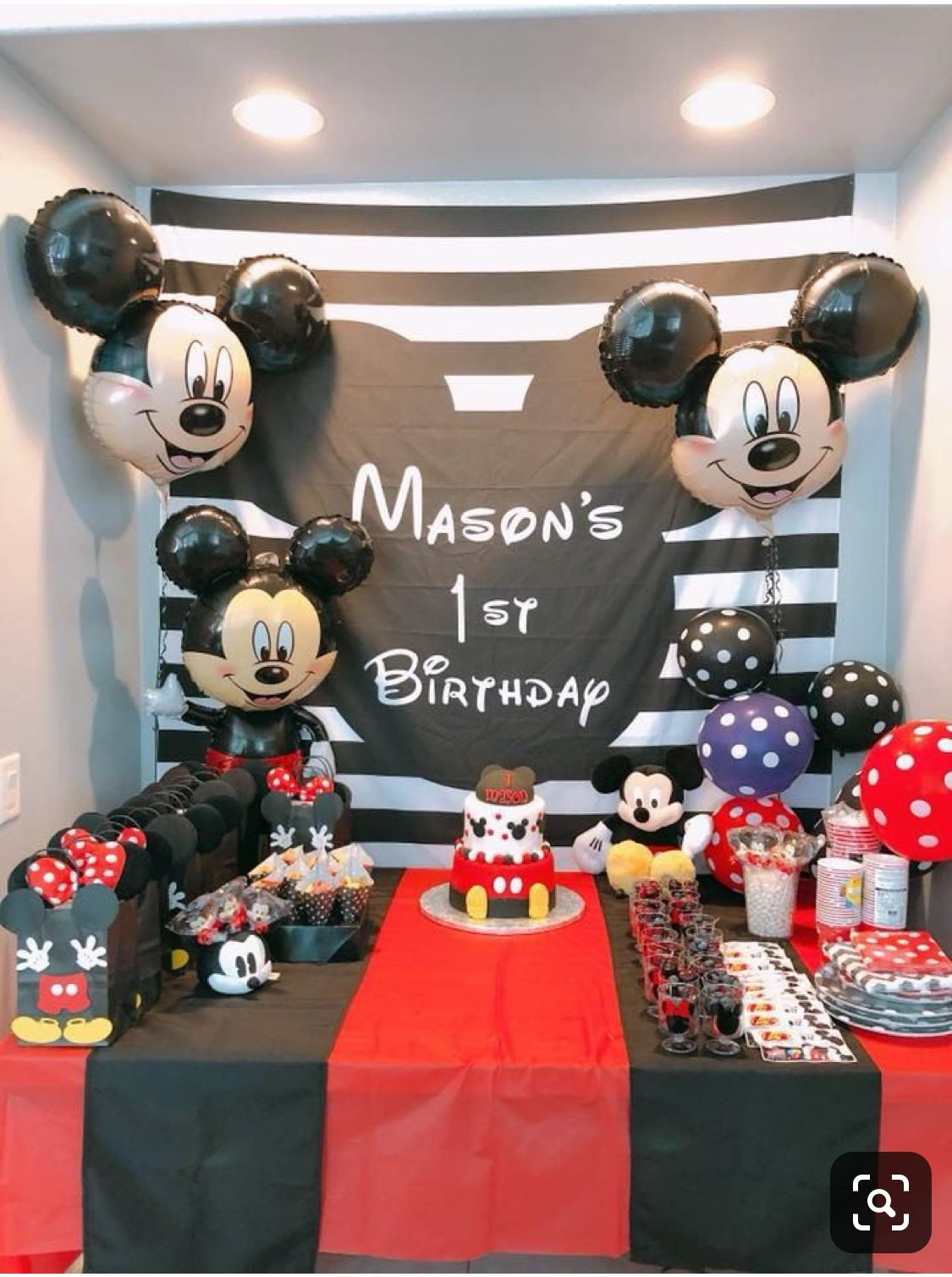 Pin By Abby Aguilar On Birthday Party Themes Mickey Mouse Birthday Party Mickey Mouse Birthday Decorations Mickey Mouse Clubhouse Birthday Party