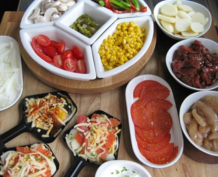 Raclette ideen f r einen kulinarischen hochgenuss in for Idee menu repas amis