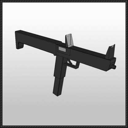 Simple full size submachine gun paper model free template download simple full size submachine gun paper model free template download httppapercraftsquaresimple full size submachine gun paper model fr pronofoot35fo Gallery