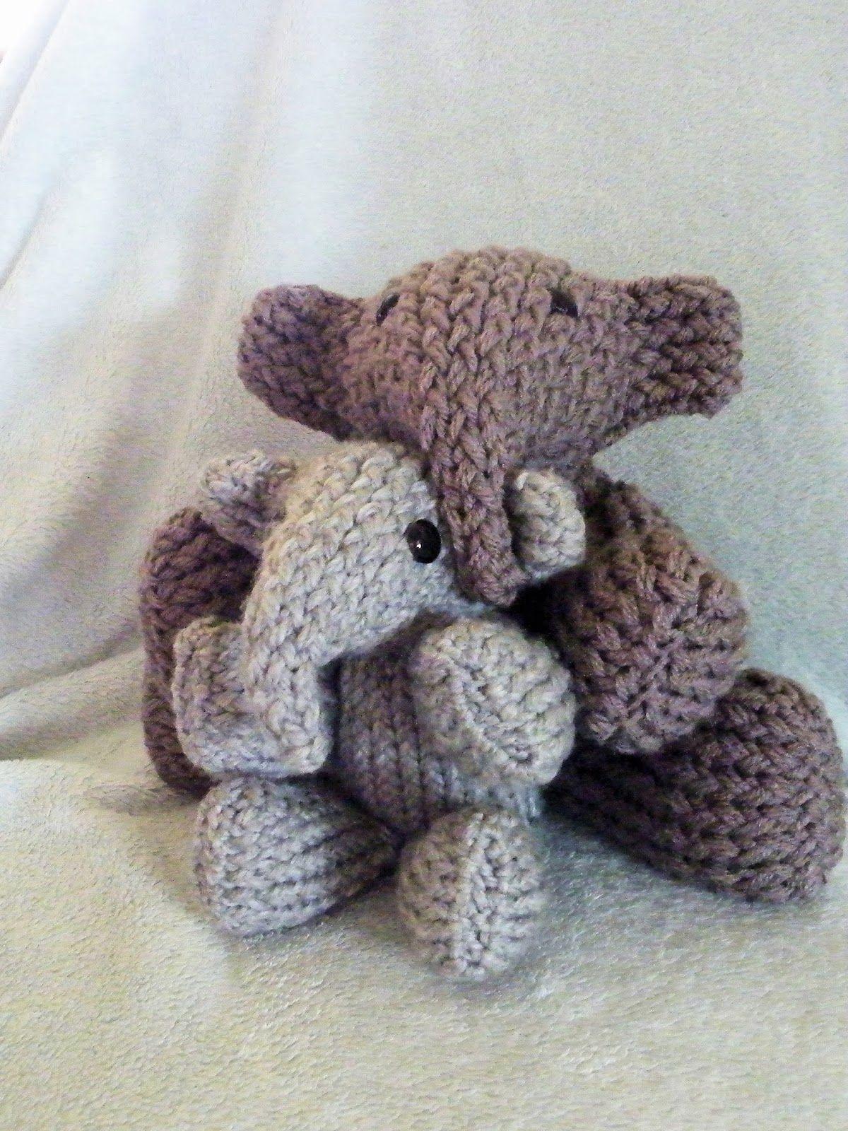 Elefantes, con telar circular   Telar circular   Pinterest   Telar ...