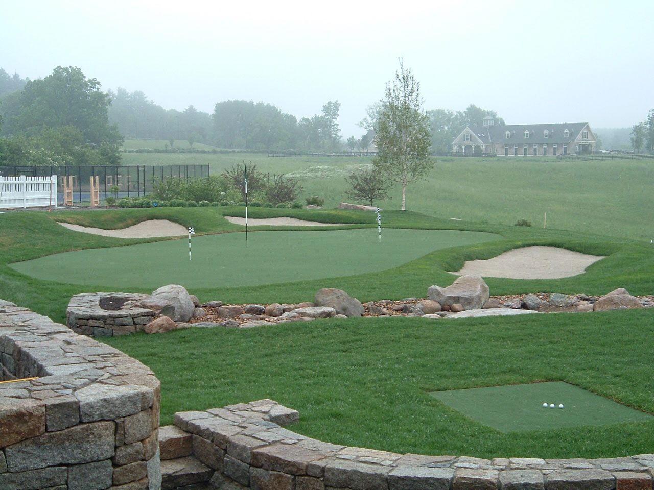 OnCourse Golf Golf courses, Backyard putting green, Golf