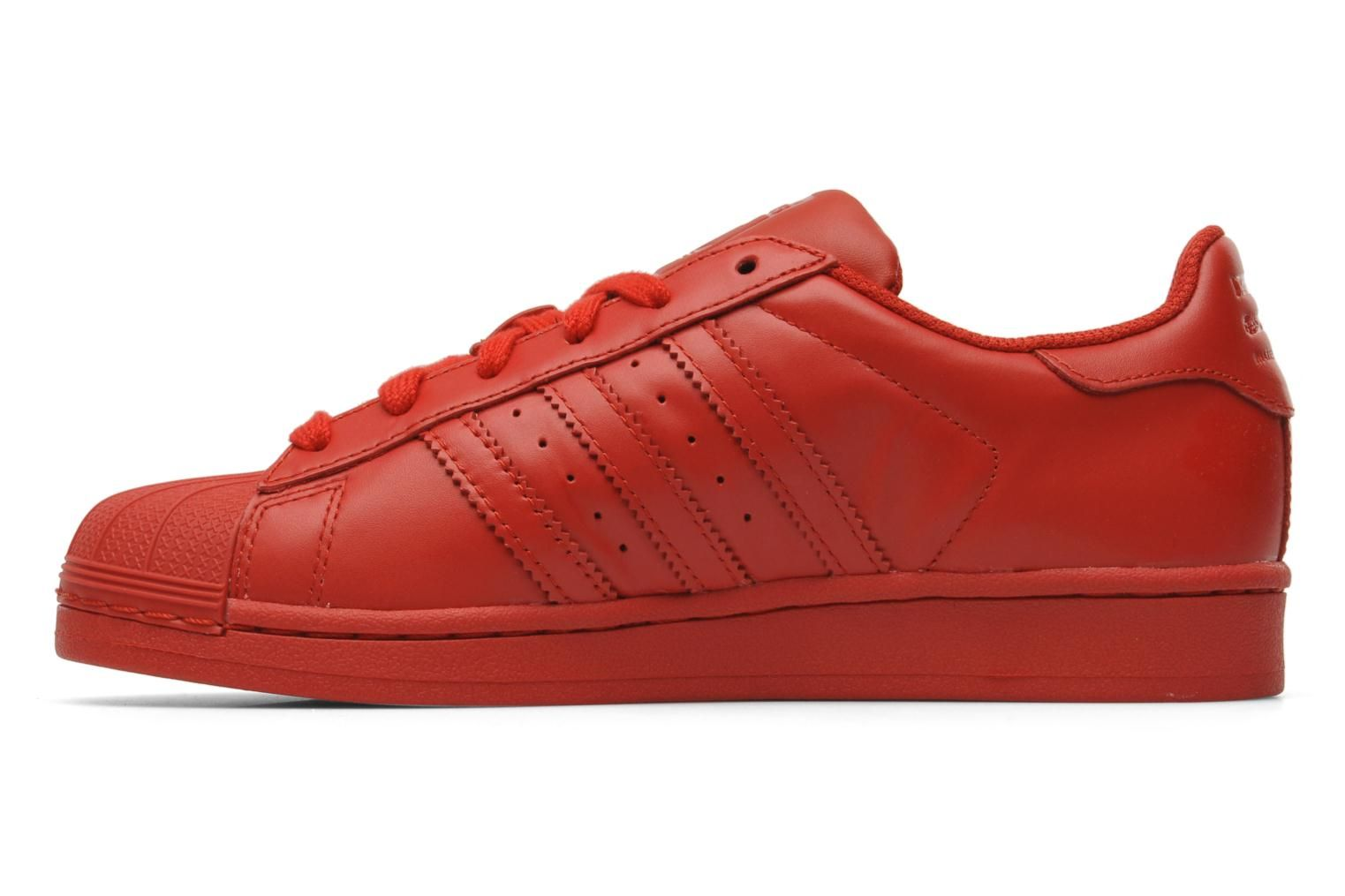 adidas superstar color rouge