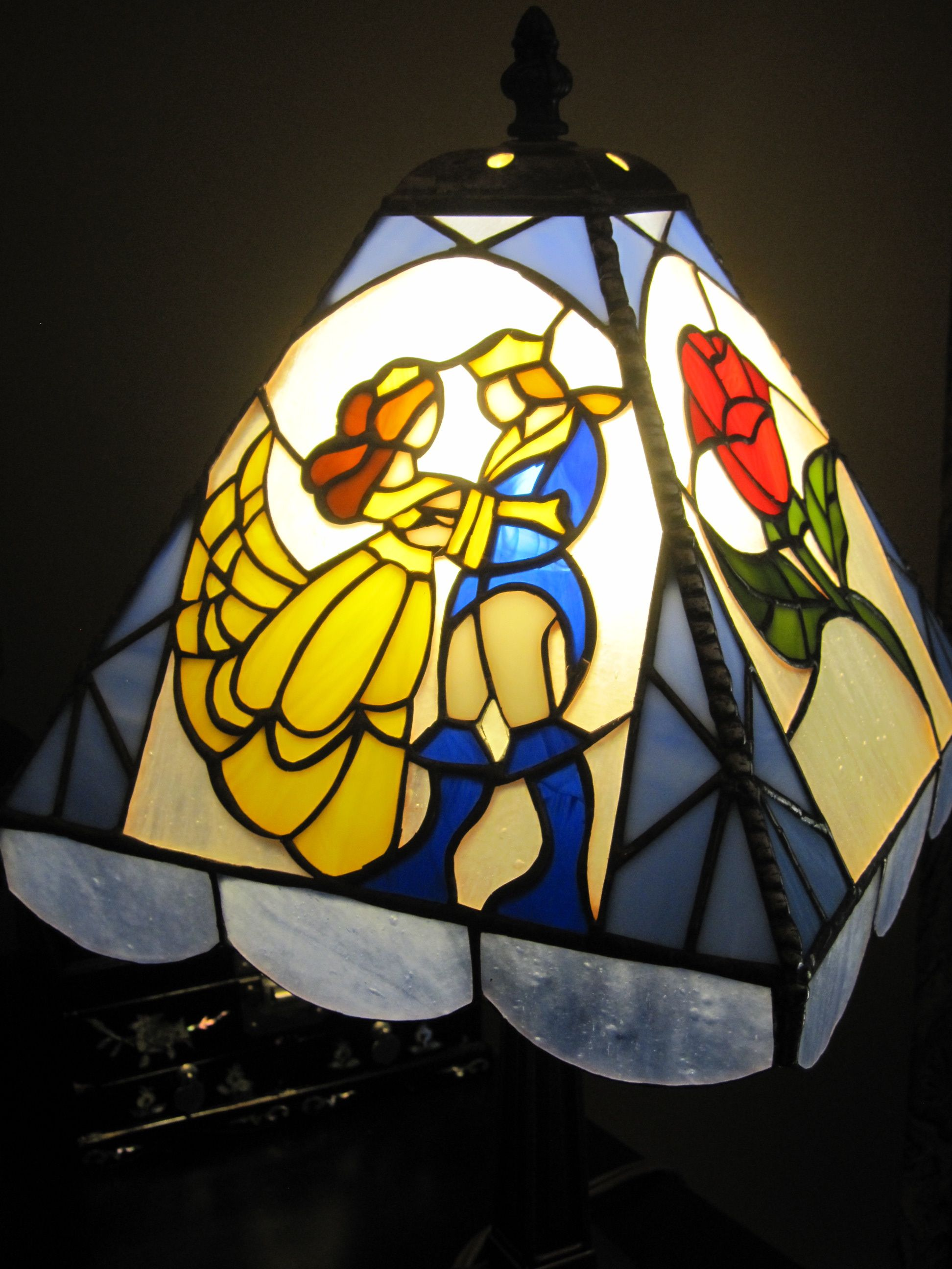 Beauty and the beast belles bedroom - Beauty And The Beast Lamp I Designed And Made For My Friend S Daughter