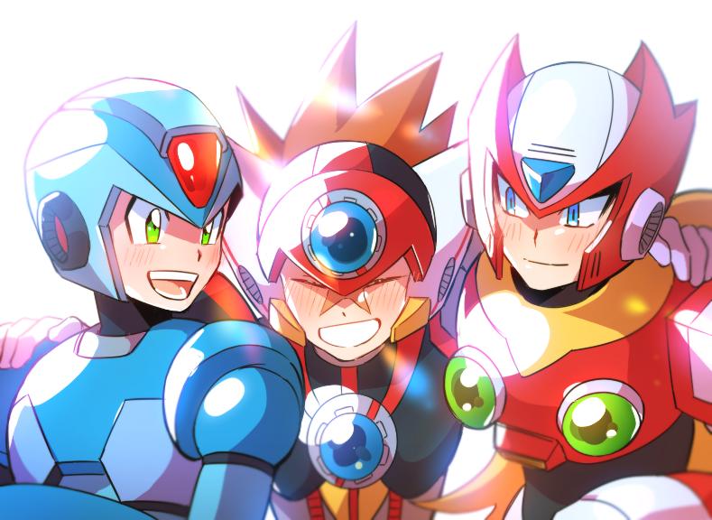 Hey Guys Mega Man Art Mega Man Anime