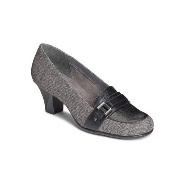 A2 by Aerosoles Womens Tweed Culinari Pumps (93 CAD) ❤ liked on Polyvore featuring shoes, pumps, black tweed, a2 by aerosoles, black pumps, black shoes, kohl shoes and tweed shoes