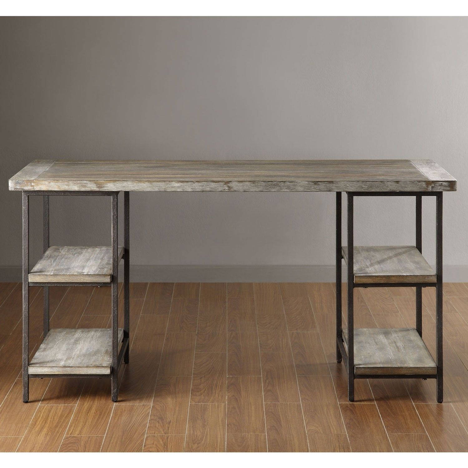 Renate Wood Metal Office Desk