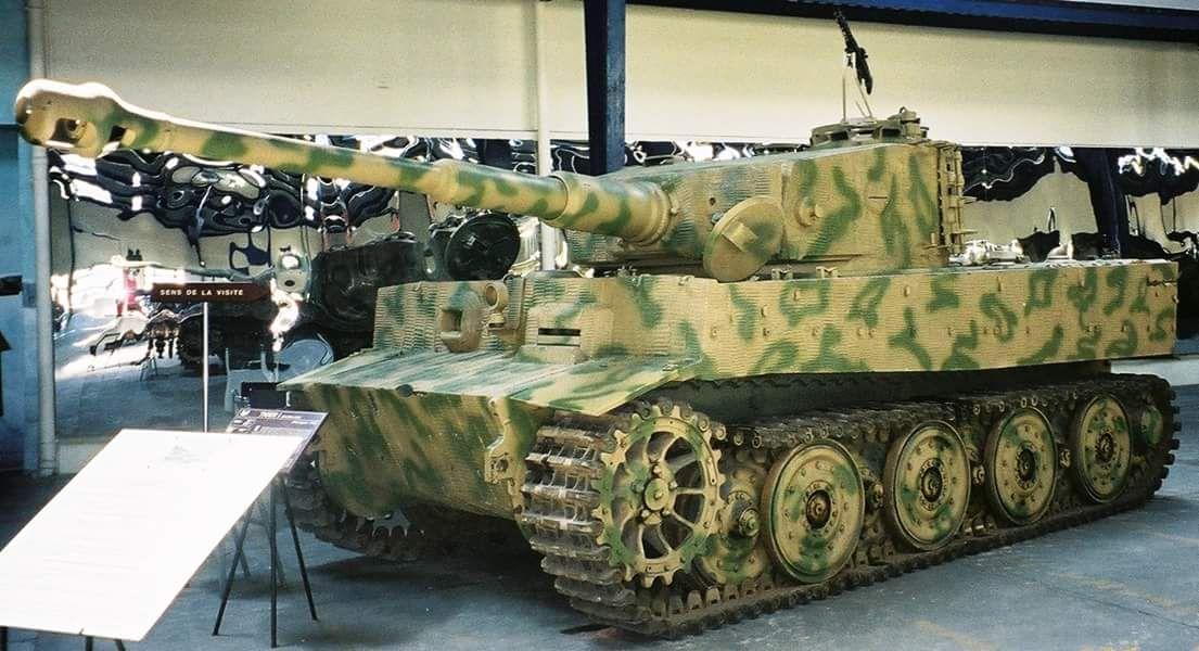 Tiger I at Musée des Blindés (France)