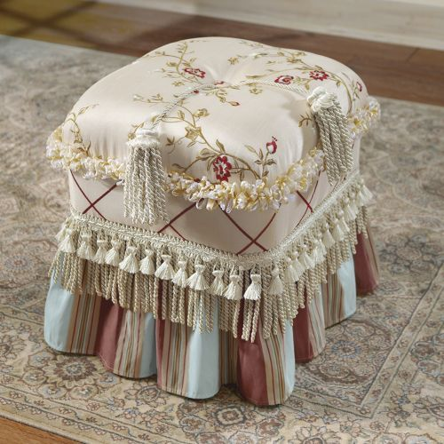 Duchess Ottoman From Through The Country Door 174 Benches
