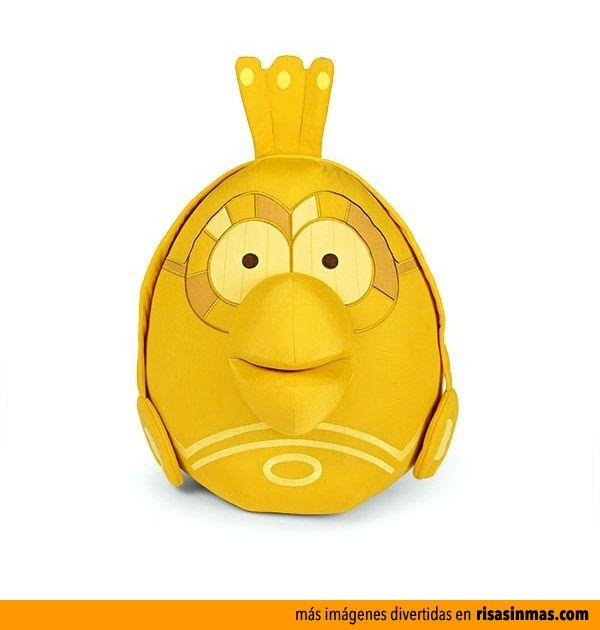 Peluche Angry Birds C3PO.