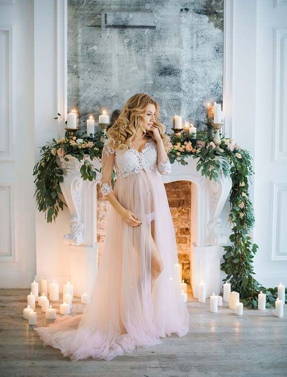 b1a4b72b2e34b Pin by Summer Nightss on Dreaming of being elegant-beautiful in 2019 | Maternity  dresses, Dresses for pregnant women, Maternity photography
