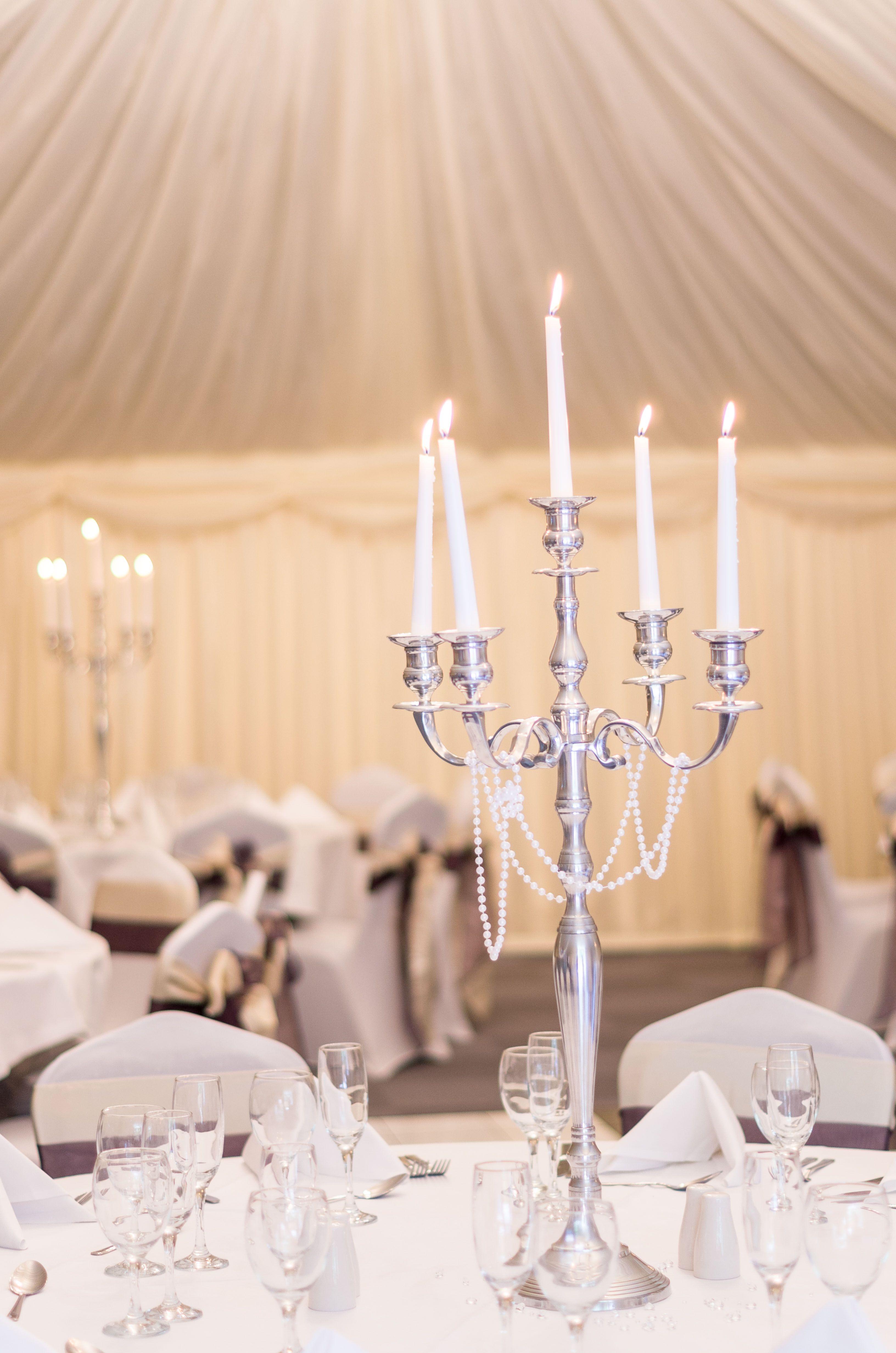 Candelabras Centre Pieces Wedding Venue Shipley West Yorkshire
