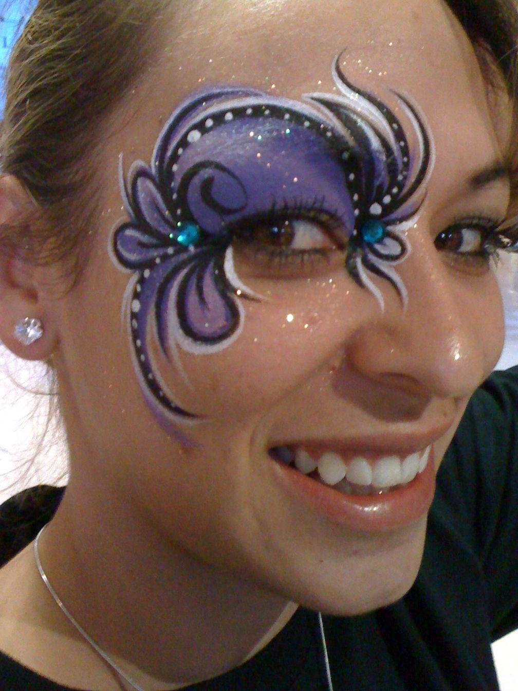 Eye Designs Face Paint Quick Eye Designs Pinterest