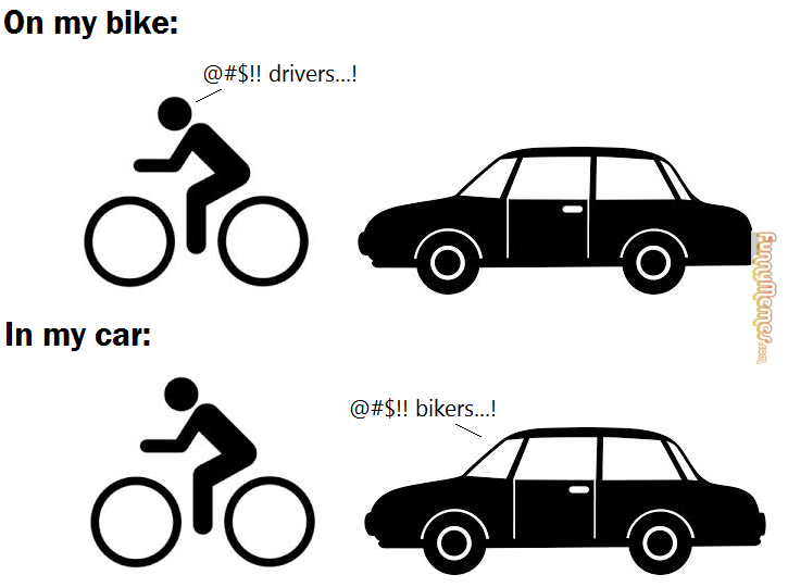 Funny Memes On My Bike Vs In My Car Funny Pictures Funny Laugh