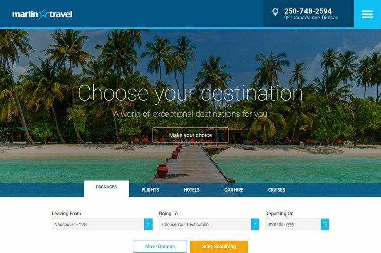 100 Best Travel And Tourism Website Design Ideas And Inspirations For 2020 Best Travel Websites Travel Website Travel And Tourism