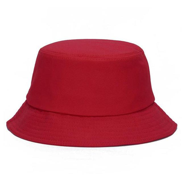 ebb312b9cdf 10 Colors !! Solid Color Bucket Hats for Men Panama Women Hat ...