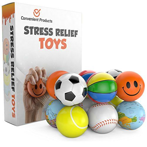 Stress Balls 12 Pack For 19 99 In Amazon Com Stress Relief