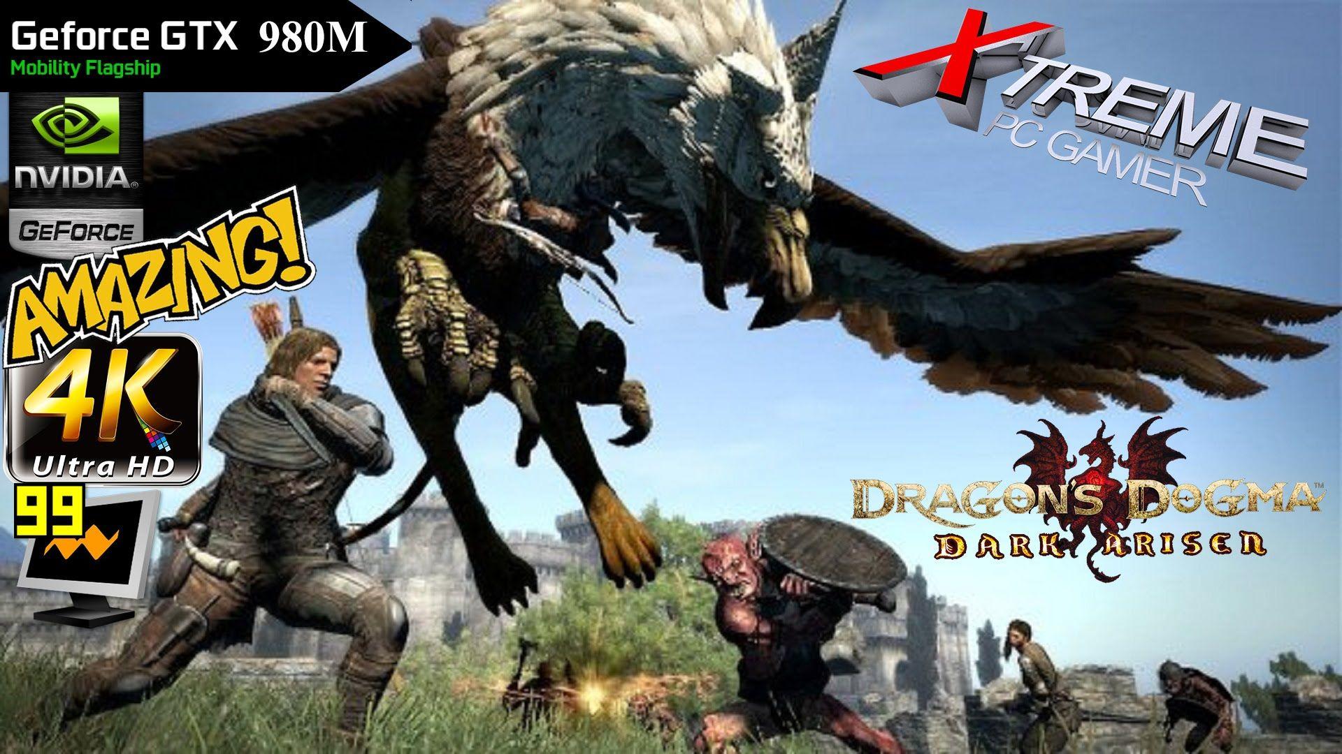 Dragon Dogma: Dark Arisen PC | 4K vs  1080p | 980M Benchmark