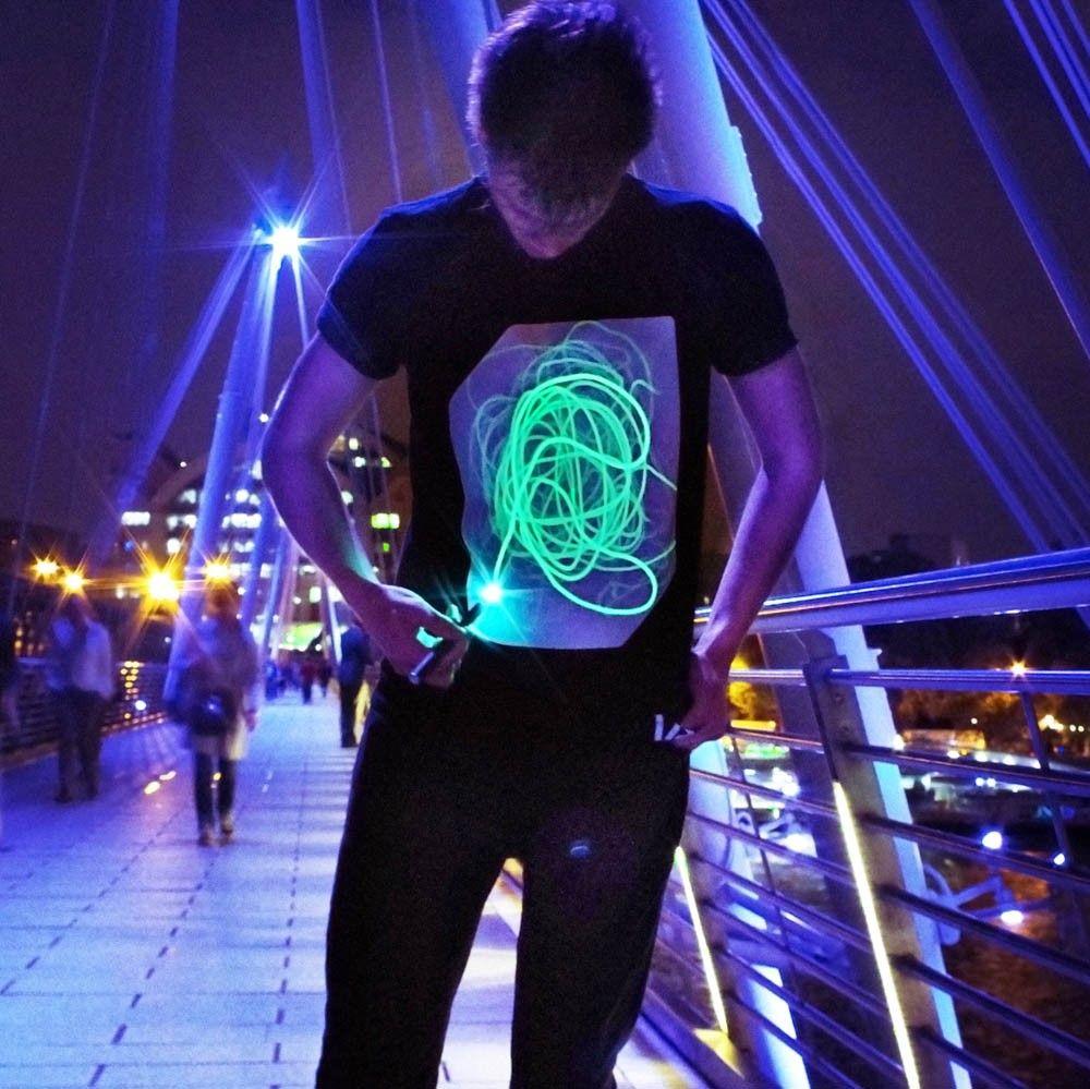 Interactive glow tshirts presents for boys birthday