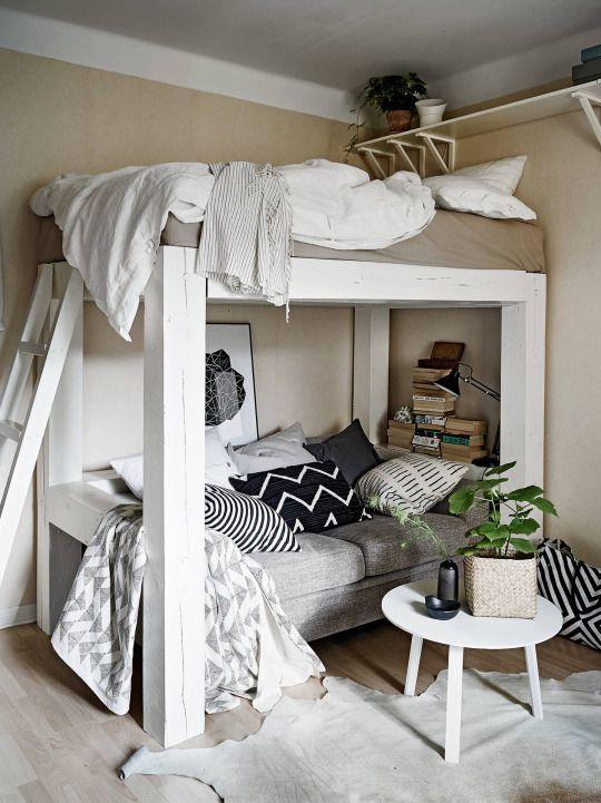 Wohnideen Schlafzimmer Studenten een mooie oplossing voor bijvoorbeeld een kleine studenten kamer er