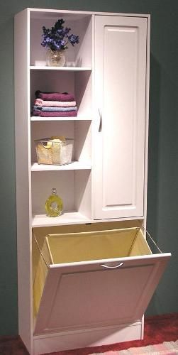 Cabinet For Dirty Towels Etc Would Be Great In A Bathroom Without Lot Of Room