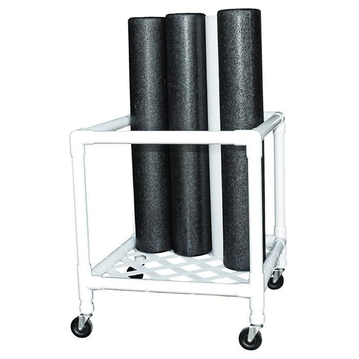 Cando Foam Roller Upright Storage Rack (Rollers not Included