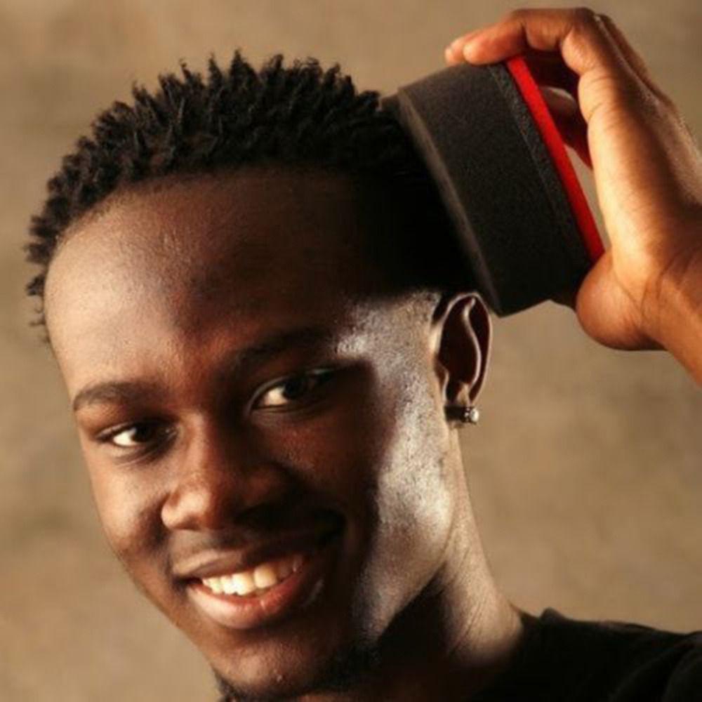 웨이브 이발사 헤어 브러시 스폰지 아프리카 Locs 트위스트 컬 코일 매직 도구