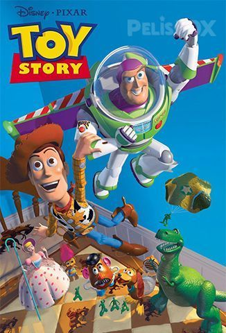 Ver Toy Story 1995 Online Latino Hd Pelisplus Toy Story Movie Toy Story Full Movie Toy Story 1995