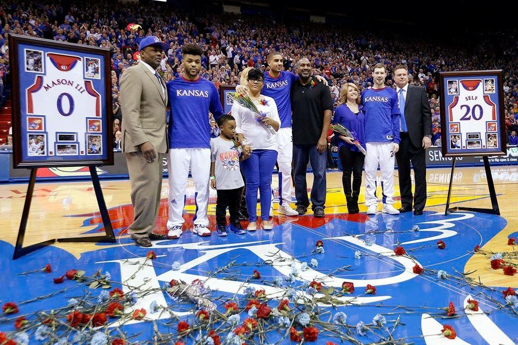 Pin By Kenda Morrison On Ku Basketball With Images Rock Chalk